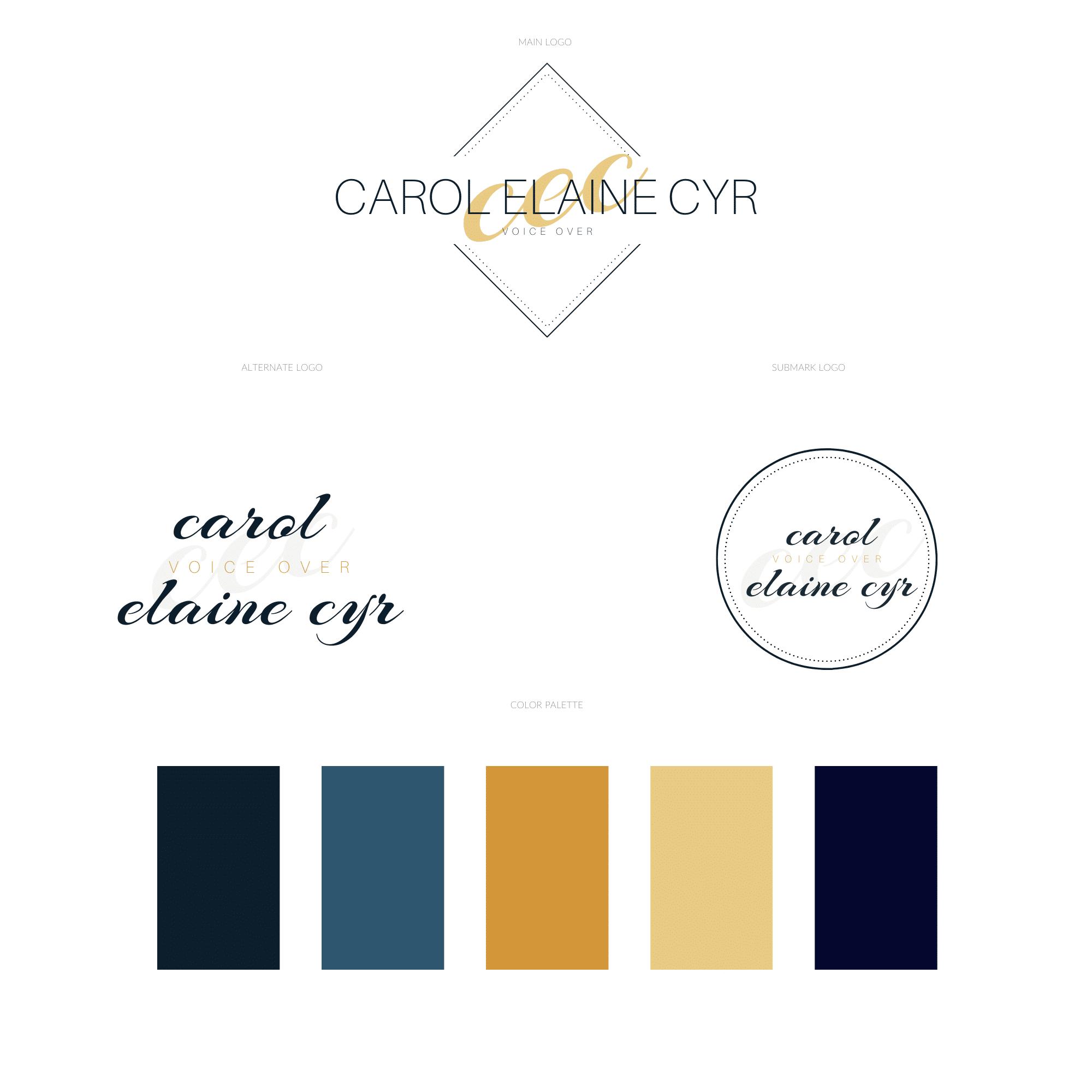 Carol - CONFIRMED Elaine Cyr Logo Option 1