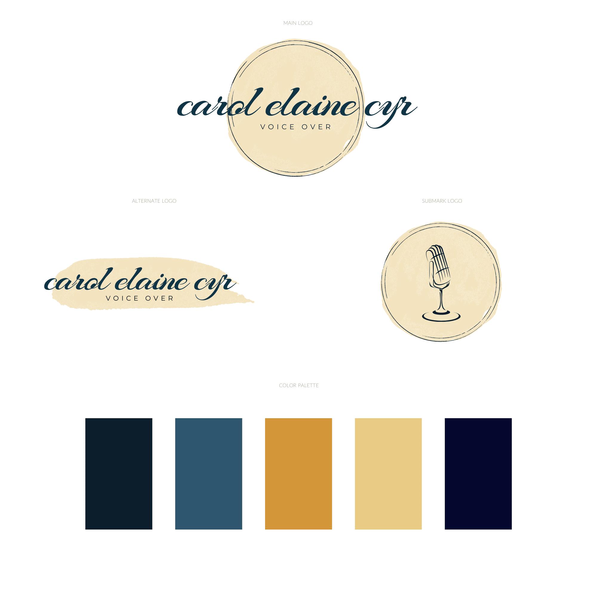 Carol Elaine Cyr Logo Option 4 (1)